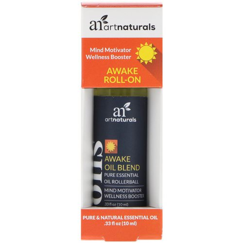 Artnaturals, Awake Roll-On, .33 fl oz (10 ml) Review