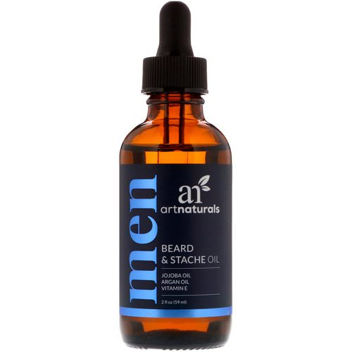 Artnaturals, Beard & Stache Oil, 2 fl oz (59 ml) Review