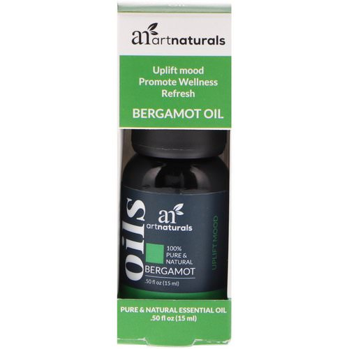 Artnaturals, Bergamot Oil, .50 fl oz (15 ml) Review