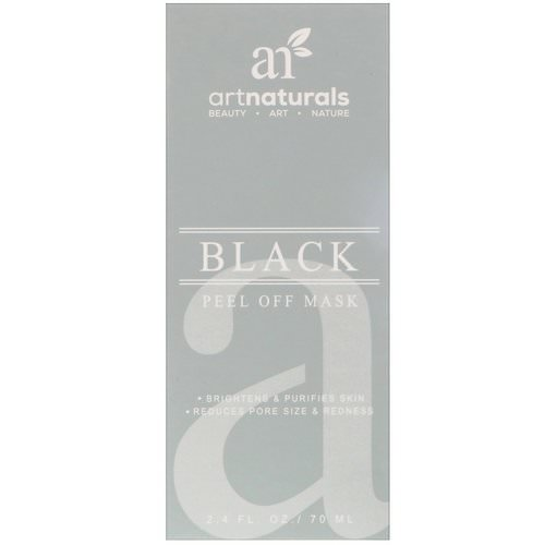 Artnaturals, Black Peel Off Mask, 2.4 fl oz (70 ml) Review