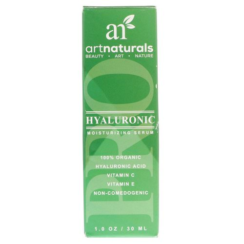 Artnaturals, Hyaluronic Moisturizing Serum, 1.0 oz (30 ml) Review