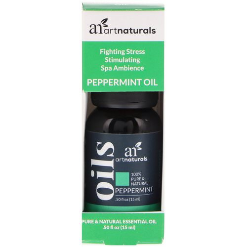 Artnaturals, Peppermint Oil, .50 fl oz (15 ml) Review