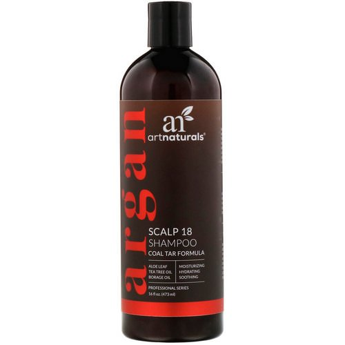 Artnaturals, Scalp 18 Shampoo, Coal Tar Formula, 16 fl oz (473 ml) Review