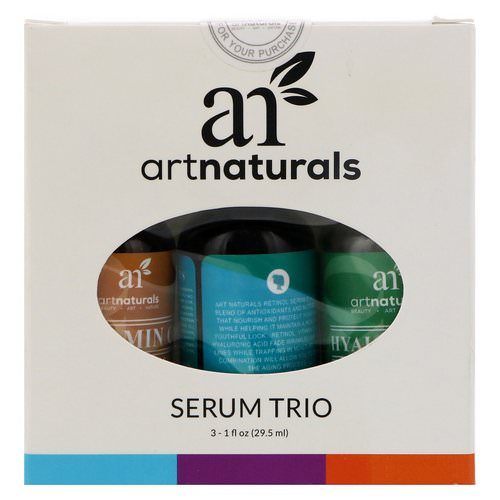 Artnaturals, Serum Trio Set, 3 Serums, 1 fl oz (29.5 ml) Each Review