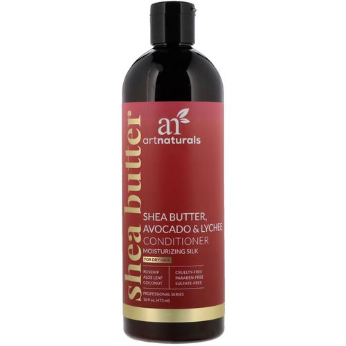 Artnaturals, Shea Butter, Avocado & Lychee Conditioner, Moisturizing Silk, For Dry Hair, 16 fl oz (473 ml) Review