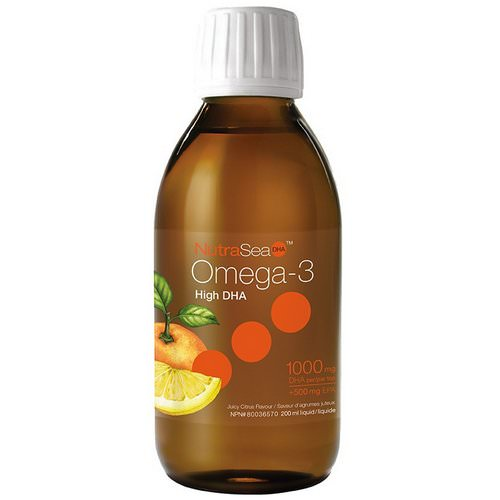 Ascenta, NutraSea, High DHA Omega-3, Juicy Citrus Flavor, 6.8 fl oz (200 ml) Review