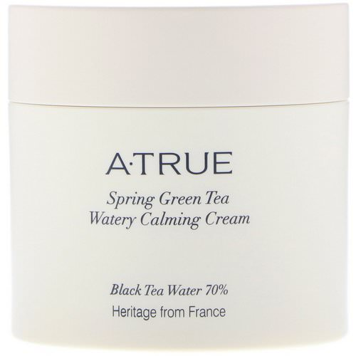 ATrue, Spring Green Tea Watery Calming Cream, 2.82 oz (80 g) Review