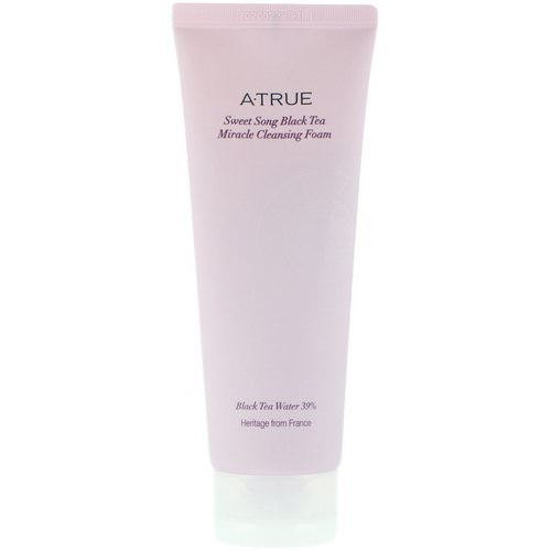 ATrue, Sweet Song Black Tea Miracle Cleansing Foam, 150 g Review