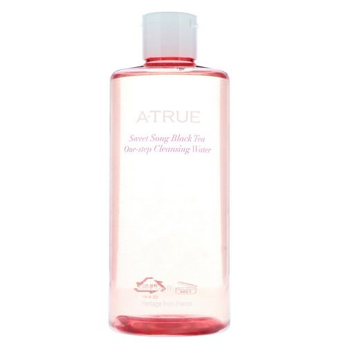 ATrue, Sweet Song Black Tea, One-Step Cleansing Water, 300 ml Review