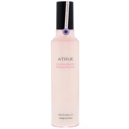 ATrue, Violet Petal Black Tea Hydrating Moisturizer, 120 ml Review
