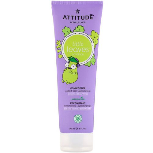 ATTITUDE, Little Leaves Science, Conditioner, Vanilla & Pear, 8 fl oz (240 ml) Review