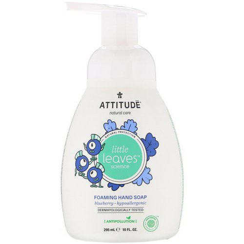 ATTITUDE, Little Leaves Science, Foaming Hand Soap, Blueberry, 10 fl oz (295 ml) Review