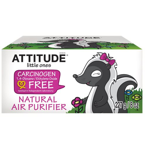 ATTITUDE, Little Ones, Natural Air Purifier, 8 oz (227 g) Review