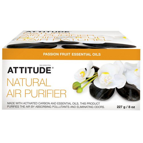 ATTITUDE, Natural Air Purifier, Passion Fruit, 8 oz (227 g) Review