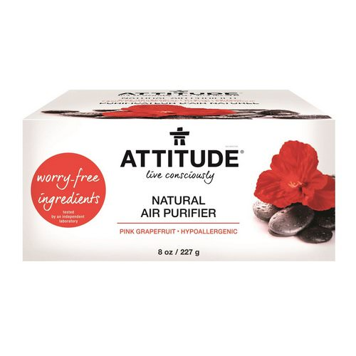ATTITUDE, Natural Air Purifier, Pink Grapefruit, 8 oz (227 g) Review