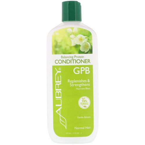 Aubrey Organics, GPB, Balancing Protein Conditioner, Normal Hair, Vanilla Balsam, 11 fl oz (325 ml) Review