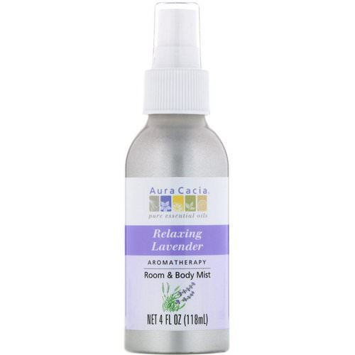 Aura Cacia, Aromatherapy Room & Body Mist, Relaxing Lavender, 4 fl oz (118 ml) Review