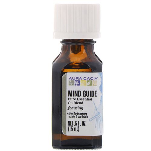 Aura Cacia, Pure Essential Oil Blend, Mind Guide, .5 fl oz (15 ml) Review