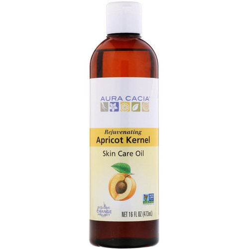 Aura Cacia, Skin Care Oil, Rejuvenating Apricot Kernel, 16 fl oz (473 ml) Review