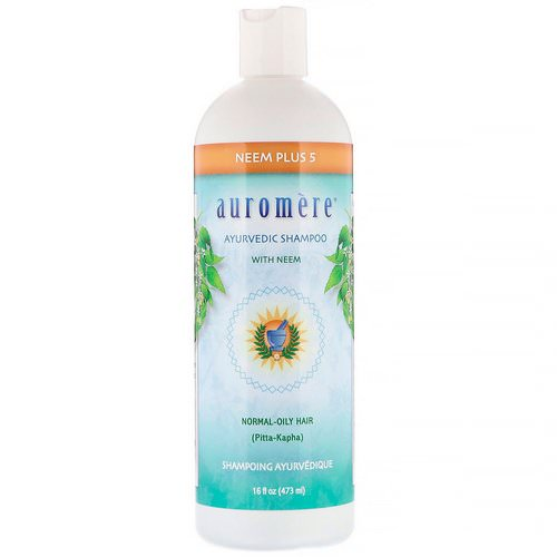 Auromere, Ayurvedic Shampoo with Neem, Neem Plus 5, 16 fl oz (473 ml) Review