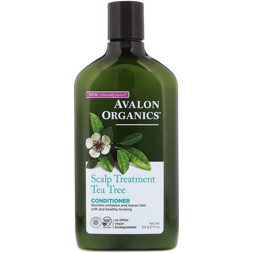 Avalon Organics, Conditioner, Scalp Treatment, Tea Tree, 11 oz (312 g) Review