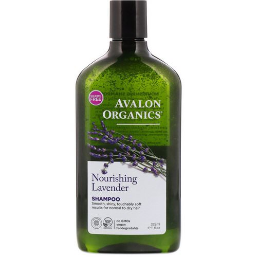Avalon Organics, Shampoo, Nourishing, Lavender, 11 fl oz (325 ml) Review