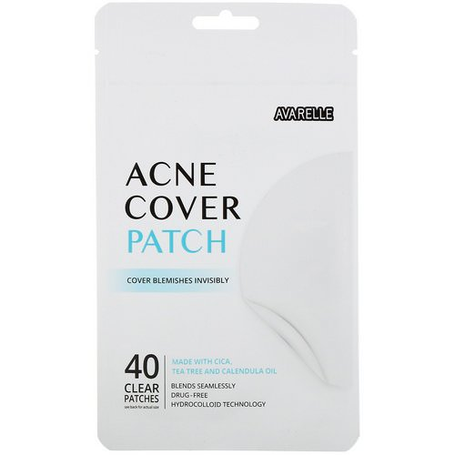 Avarelle, Acne Cover Patch, 40 Clear Patches Review