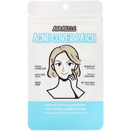 Avarelle, Acne Cover Patch, 8 Extra Large Patches Review