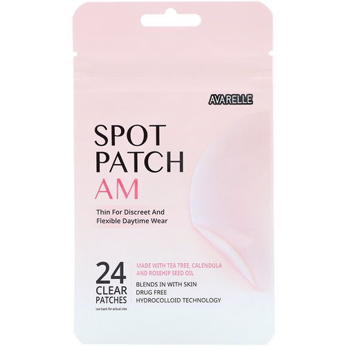 Avarelle, Spot Patch AM, 24 Clear Patches Review