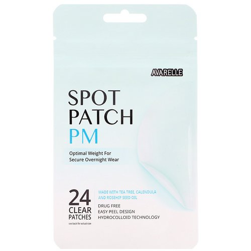 Avarelle, Spot Patch PM, 24 Clear Patches Review