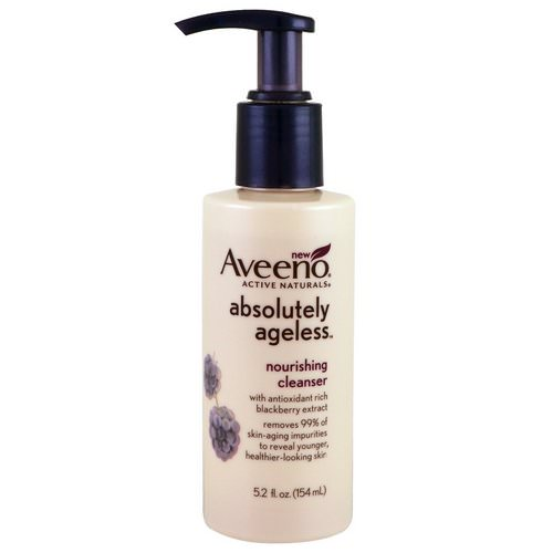 Aveeno, Absolutely Ageless, Nourishing Cleanser, 5.2 fl oz (154 ml) Review