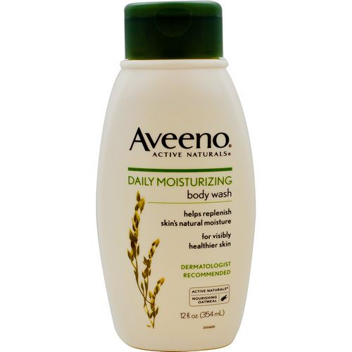 Aveeno, Active Naturals, Daily Moisturizing Body Wash, 12 fl oz (354 ml) Review