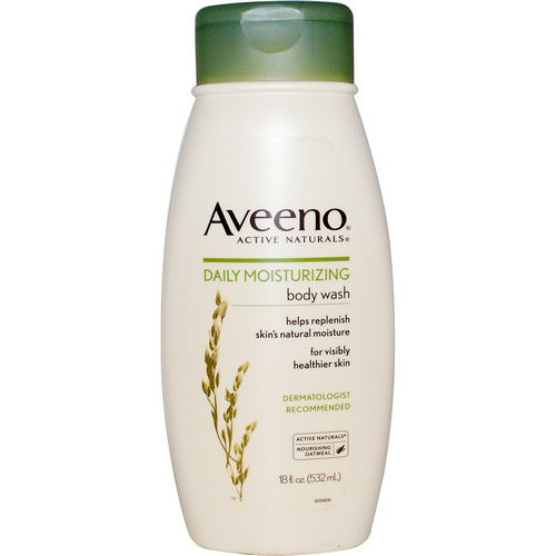 Aveeno, Active Naturals, Daily Moisturizing Body Wash, 18 fl oz (532 ml) Review