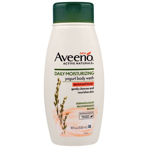 Aveeno, Daily Moisturizing Yogurt Body Wash, Apricot and Honey, 18 fl oz (532 ml) Review