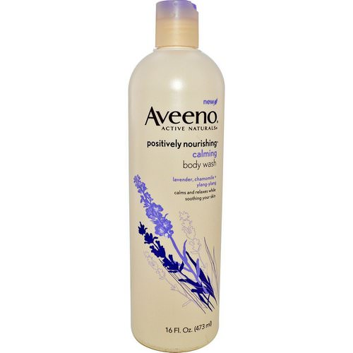 Aveeno, Active Naturals, Positively Nourishing, Calming Body Wash, 16 fl oz (473 ml) Review