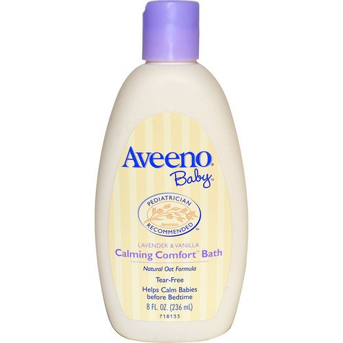 Aveeno, Baby, Calming Comfort Bath, Lavender & Vanilla, 8 fl oz (236 ml) Review