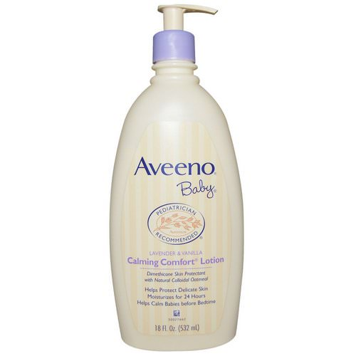 Aveeno, Baby, Calming Comfort Lotion, Lavender & Vanilla, 18 fl oz (532 ml) Review