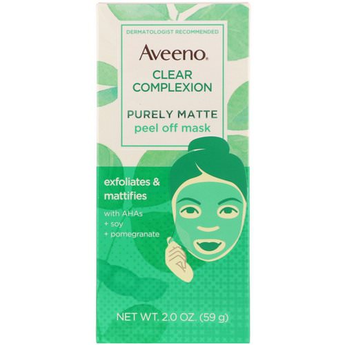 Aveeno, Clear Complexion, Purely Matte Peel Off Mask, 2.0 oz (59 g) Review