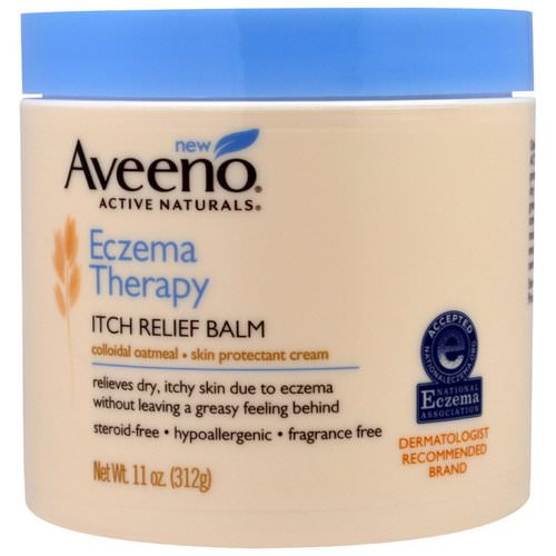Aveeno, Eczema Therapy Itch Relief Balm, 11 oz (312 g) Review