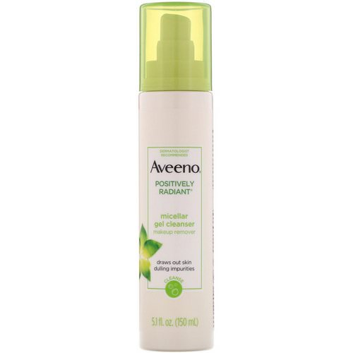 Aveeno, Positively Radiant, Micellar Gel Cleanser, 5.1 fl oz (150 ml) Review