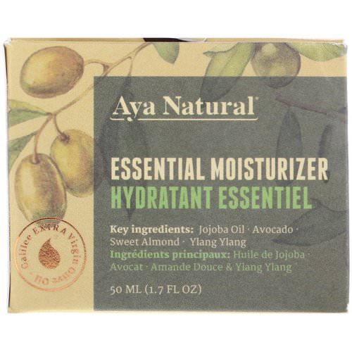 Aya Natural, Essential Moisturizer, 1.7 fl oz (50 ml) Review