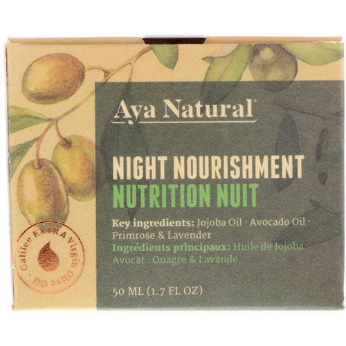Aya Natural, Night Nourishment, 1.7 fl oz (50 ml) Review