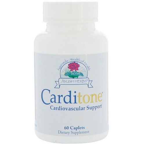 Ayush Herbs, Carditone, 60 Caplets Review