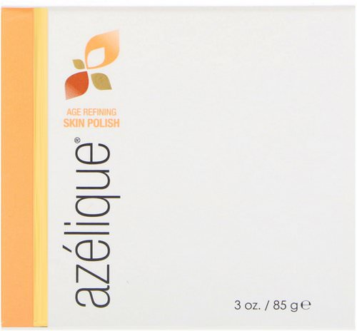 Azelique, Age Refining Skin Polish, Cleansing and Exfoliating, No Parabens, No Sulfates, 3 oz (85 g) Review