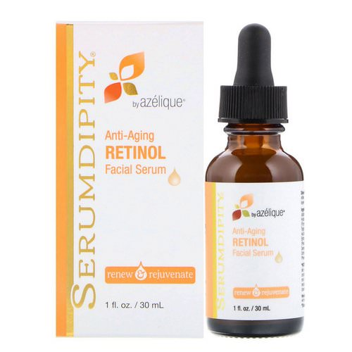 Azelique, Serumdipity, Anti-Aging Retinol Vitamin A, Facial Serum, 1 fl oz (30 ml) Review