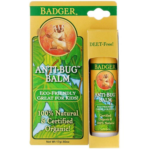 Badger Company, Anti-Bug Balm, 0.60 oz (17 g) Review