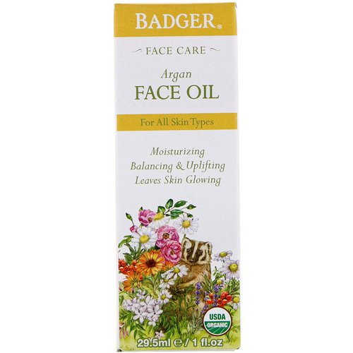 Badger Company, Argan Face Oil, 1 fl oz (29.5 ml) Review