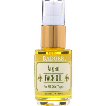 Badger Company, Face Oils, Argan Oil
