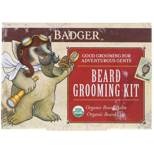 Badger Company, Beard Grooming Kit, 2 Piece Kit Review