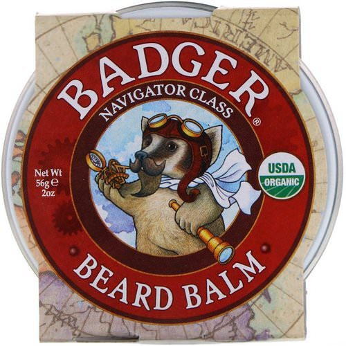 Badger Company, Navigator Class, Beard Balm, 2 oz (56 g) Review